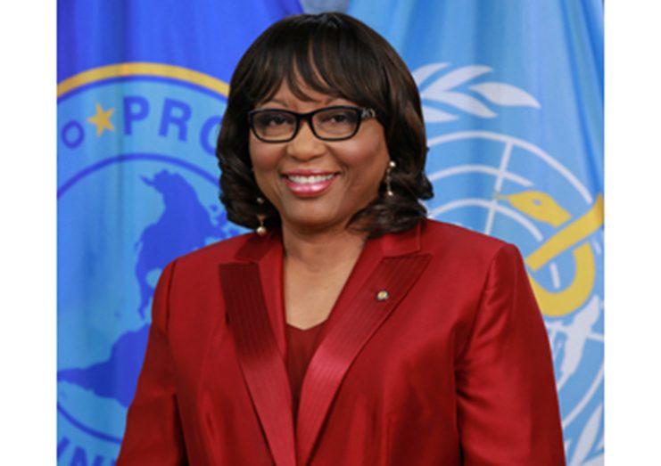 PAHO Director, Carissa F. Etienne