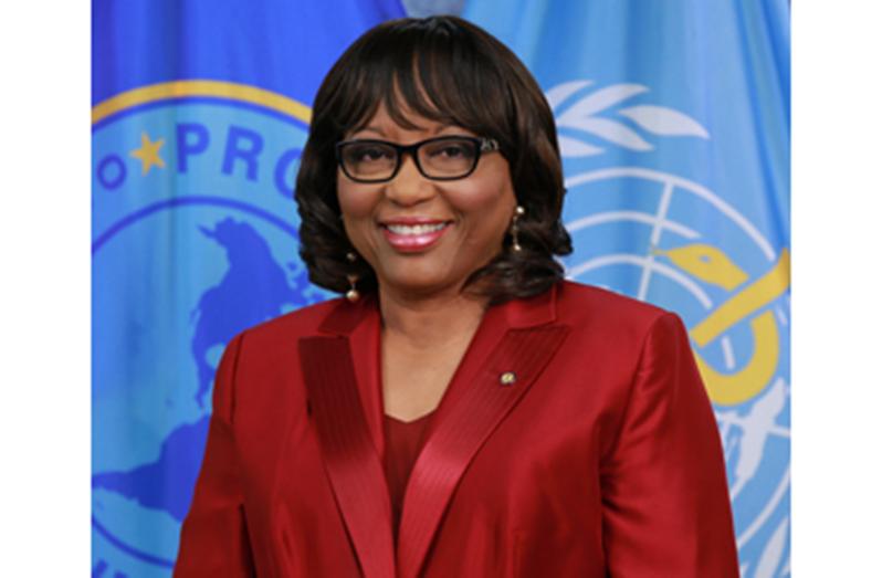 PAHO, Director Carissa F. Etienne