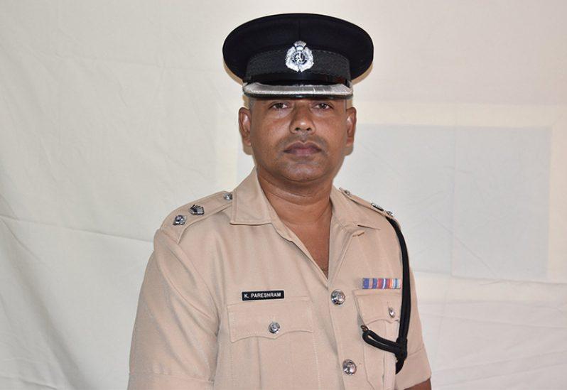 Senior Superintendent Khali Pareshram