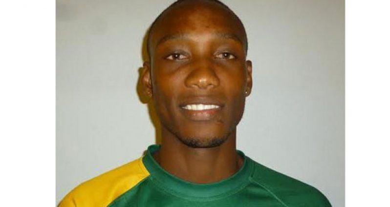 Local track star Patrick King