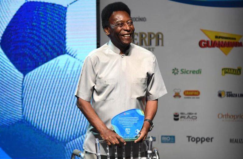 Pele will reach his landmark 80th birthday on Friday