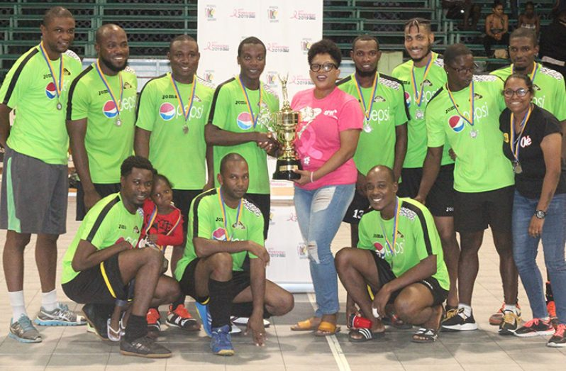Pepsi Hikers continued their reign as first division male champions.