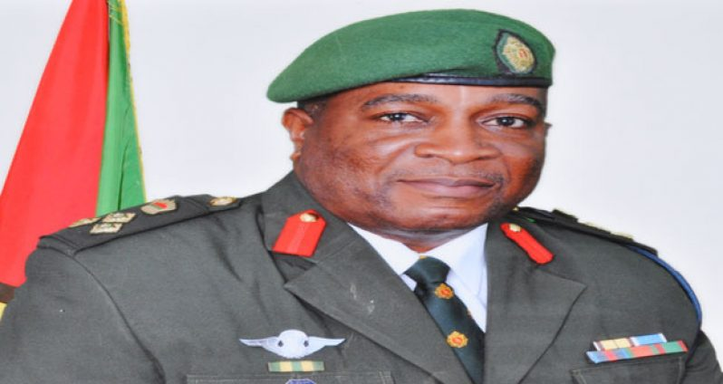 Army Chief Brigadier Mark Phillips