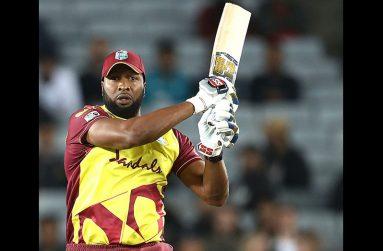One of West Indies' power-hitters, captain Kieron Pollard