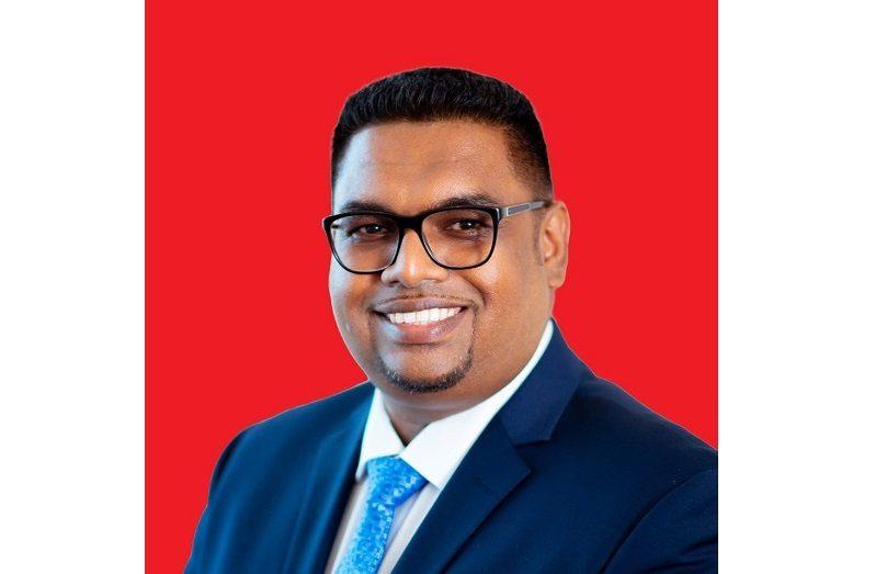 President, Dr. Mohamed Irfaan Ali