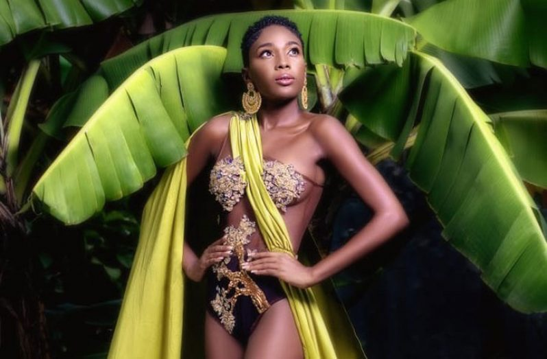 Reigning Miss Guyana Caribbean Culture Queen, Arian Dahlia Richmond