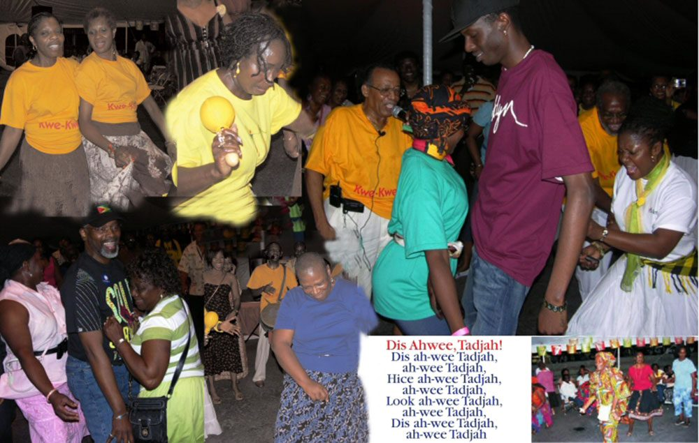Scienc-ing de science' down in New York (Photos courtesy of the Guyana Cultural Association of New York)