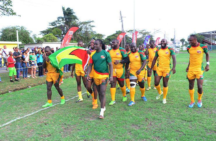 Guyana's 15s Rugby Team