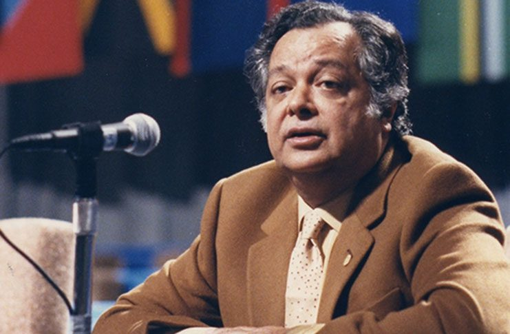 Guyanese Shridath Ramphal, the then Secretary-General of the Commonwealth, who commissioned the report