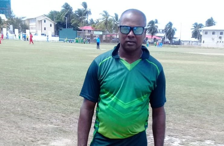 Newly accredited CWI Level 1 coach Rayborn Gonsalves