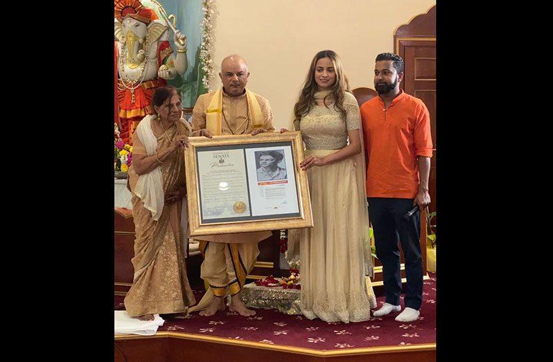 Guyanese honoured by NY State SenateGuyanese honoured by NY State SenateGuyanese honoured by NY State Senate