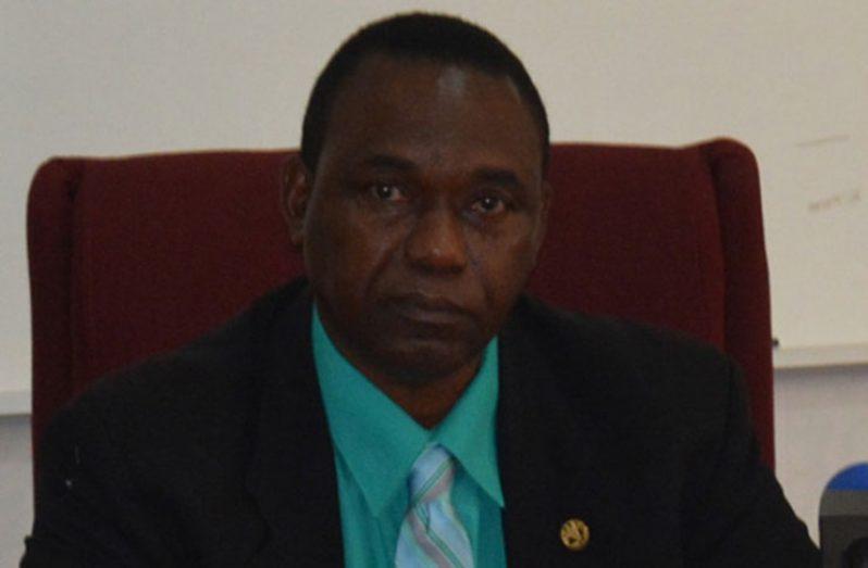 FAO Country Representative, Mr Rueben Robertson