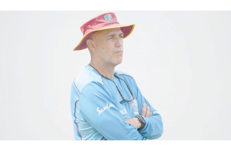 Sacked interim coach Richard Pybus