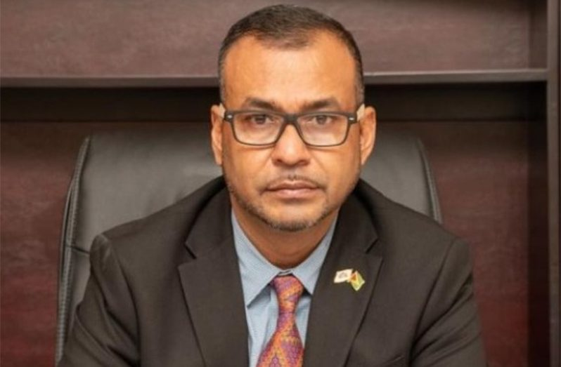 Foreign Secretary at the Ministry of Foreign Affairs and International Cooperation, Robert Persaud