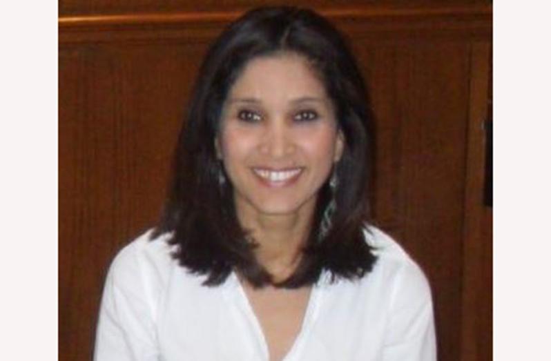 Head of the Diaspora  Unit, Rosalinda Rasul