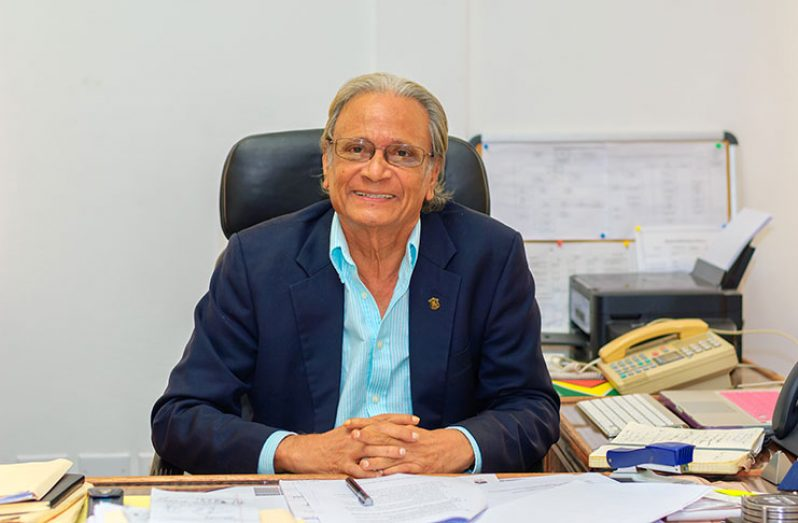 Minister of Public Service, Dr Rupert Roopnaraine