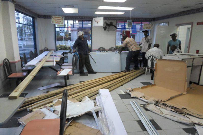 Renovation works at the Vlissengen Road facility