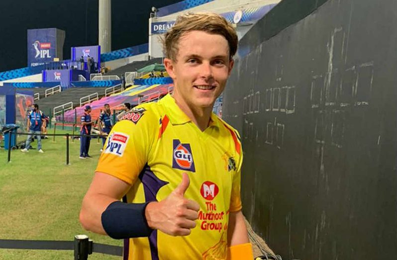 Chennai Super Kings all-rounder Sam Curran