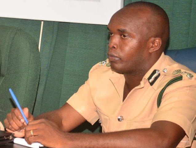 Deputy Director of Prisons, Gladwin Samuels. [Guyana Chronicle Photo]