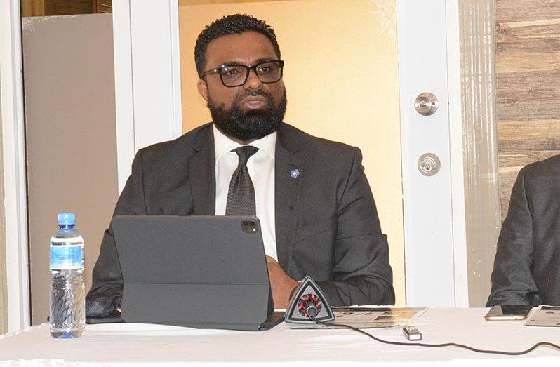 PPP/C GECOM Commissioner, Sase Gunraj