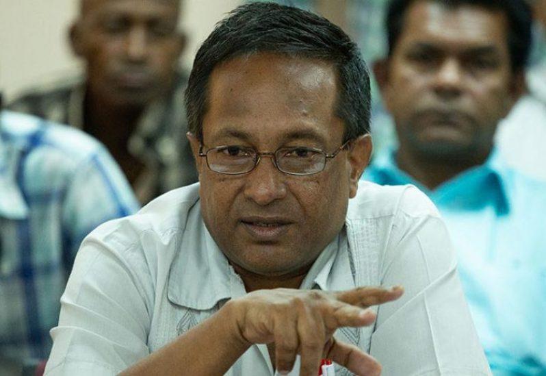 General Secretary of the Guyana Agricultural Workers' Union (GAWU), Seepaul Narine