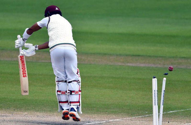 Shai Hope averaged 17 on the recent tour of England.