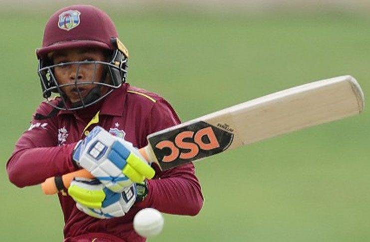 West Indies Women's stroke-maker Shemaine Campbelle