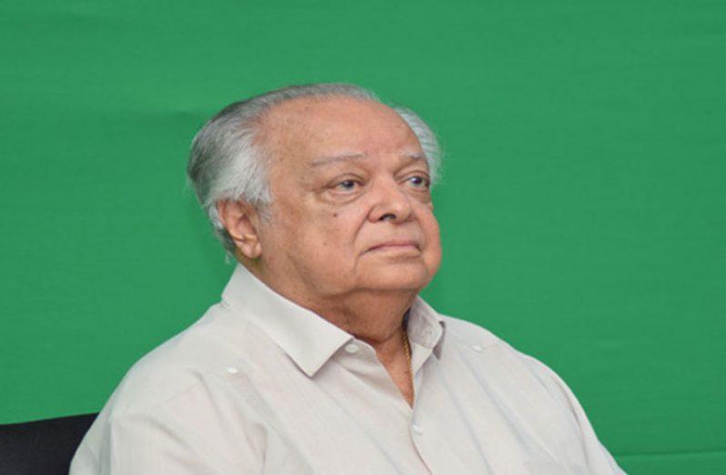 Guyanese Diplomat Sir Shridath Ramphal