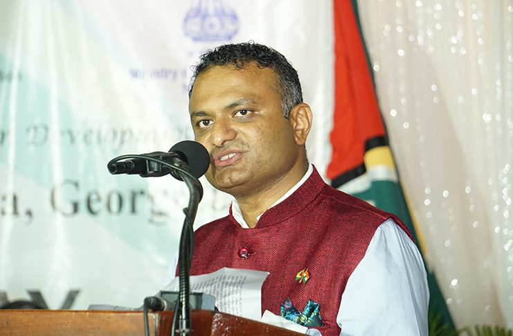 India's High Commissioner to Guyana Dr K. Srinivasa
