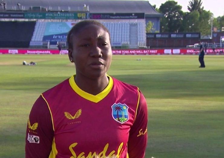 West Indies Women's captain Stafanie Taylor
