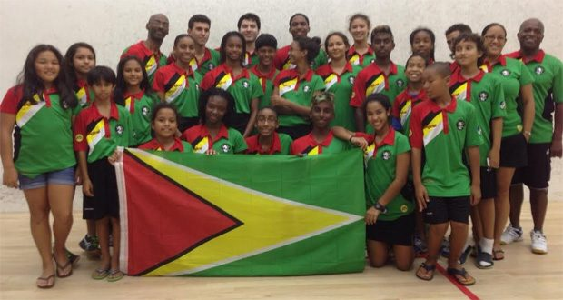 Guyana's Junior CASA team for 2015