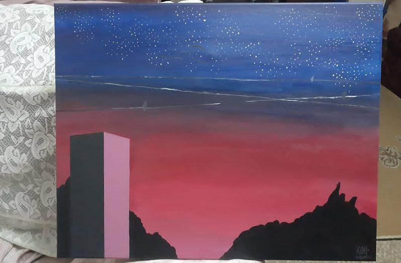 Location: Sunset City (revised) by Teija Edwards.
