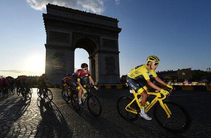 The 107th edition of the Tour will start in Nice and finish in Paris.