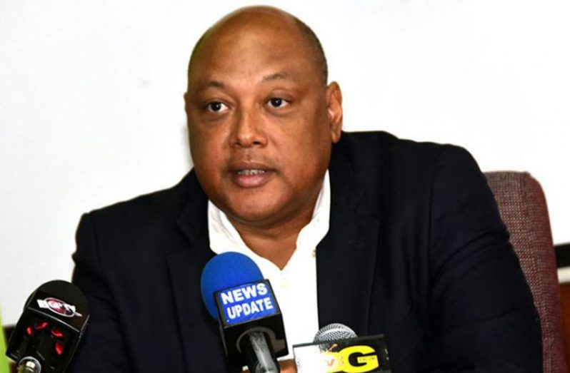 Natural Resources Minister,Raphael Trotman