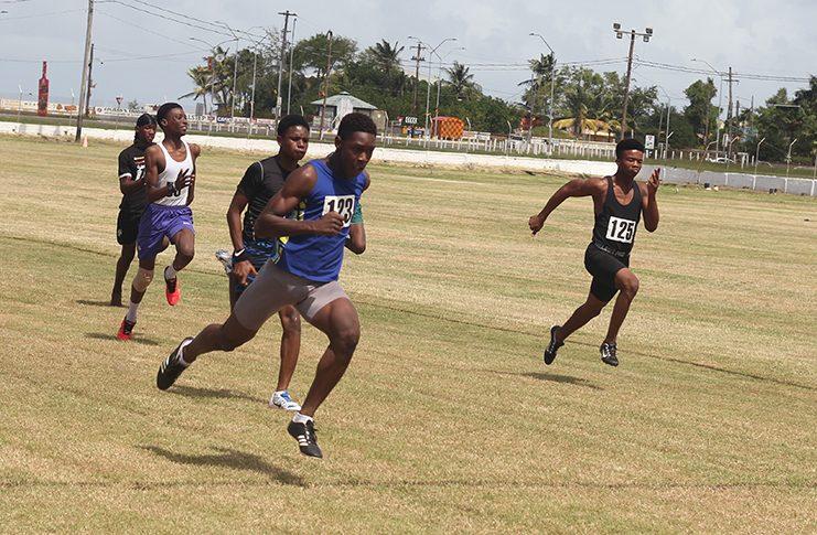 CARIFTA athlete Wesley Tyndall won the Boys 16 and Under 60M dash