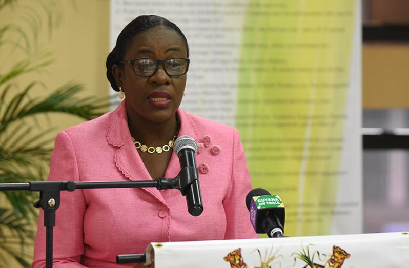 Minister of Education Nicolette