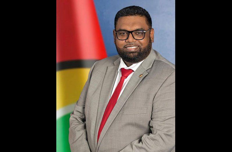 President of Guyana, Dr. Irfaan Ali
