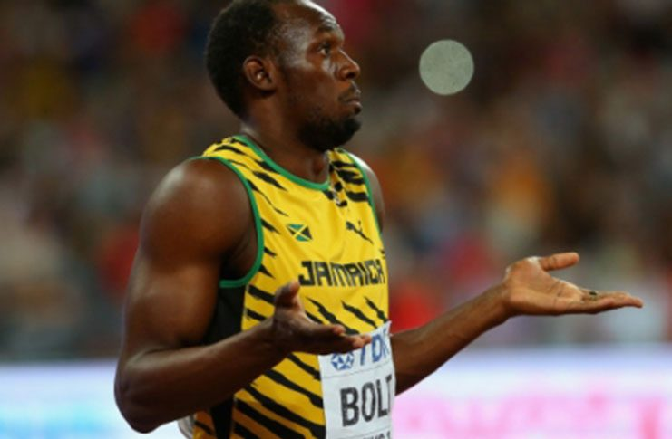 World's fastest man Usain Bolt