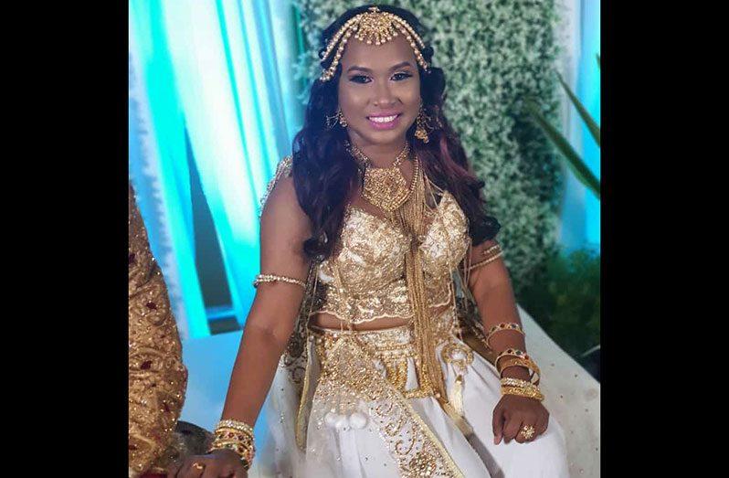 The talented 'Poowah' singer, Vanita Willie