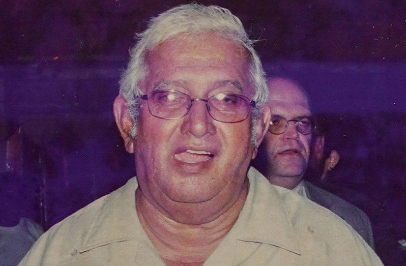 Veteran public servant, Eshwar Vevakanand Persaud, fondly known as 'Vic'