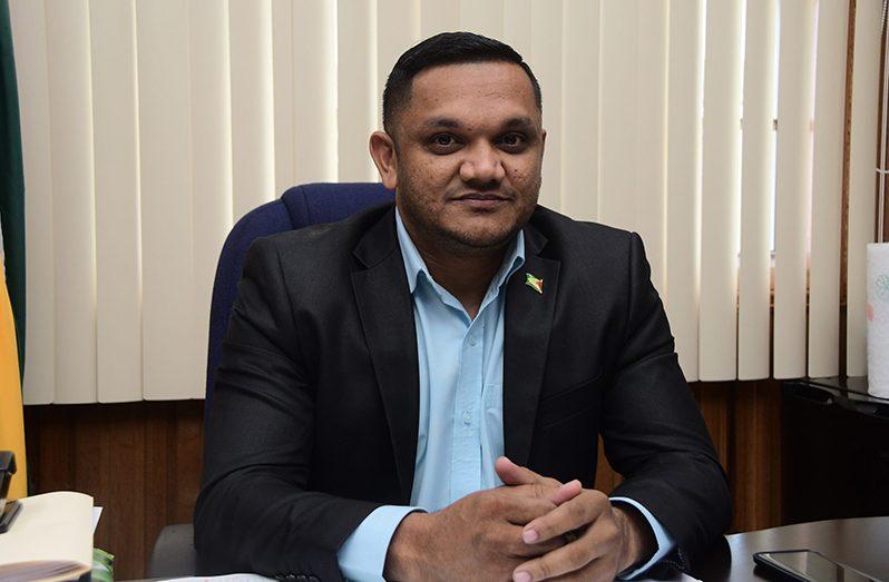 Minister of Natural Resources Vickram Bharrat