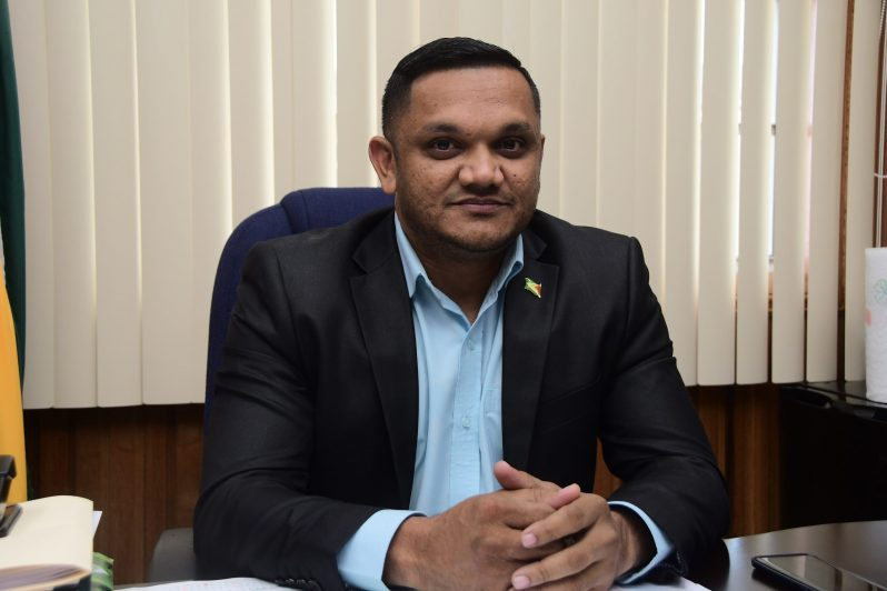 Natural Resources Minister, Vickram Bharrat
