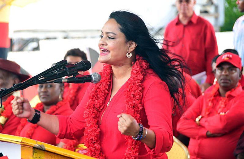 Former People's Progressive Party/Civic (PPP/C) Member of Parliament, Dr Vindhya Persaud