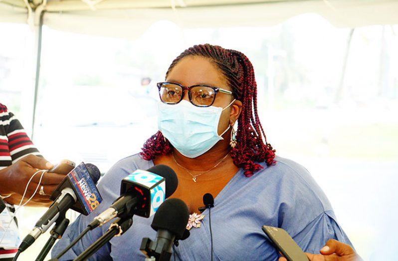 GECOM's Public Relations Officer (PRO),Yolanda Ward