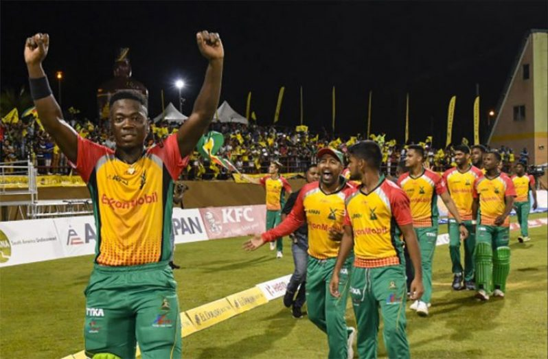 FLASHBACK: Guyana Amazon Warriors got past the Trinbago Knight Riders to make it to their 4th Hero CPL final in the 2018  tournament,