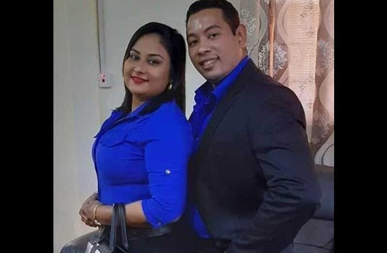 Cuban national Yuri Garcia, and his Guyanese wife, Ateeka Ishmael