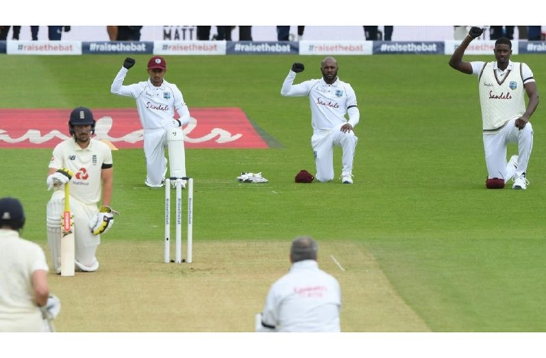 West Indies played a three-Test series in England when Covid-19 infection rates were high.