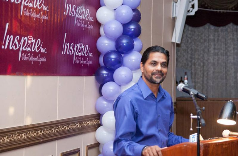 Founder of the Mahadeo Foundation, Mr. Yog Mahadeo