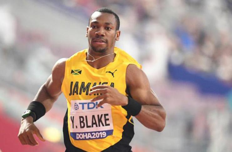Jamaica sprint star Yohan Blake has lashed out at IAAF chief Sebastian Coe, saying he is killing athletics. (AFP Photo/Jewel SAMAD)