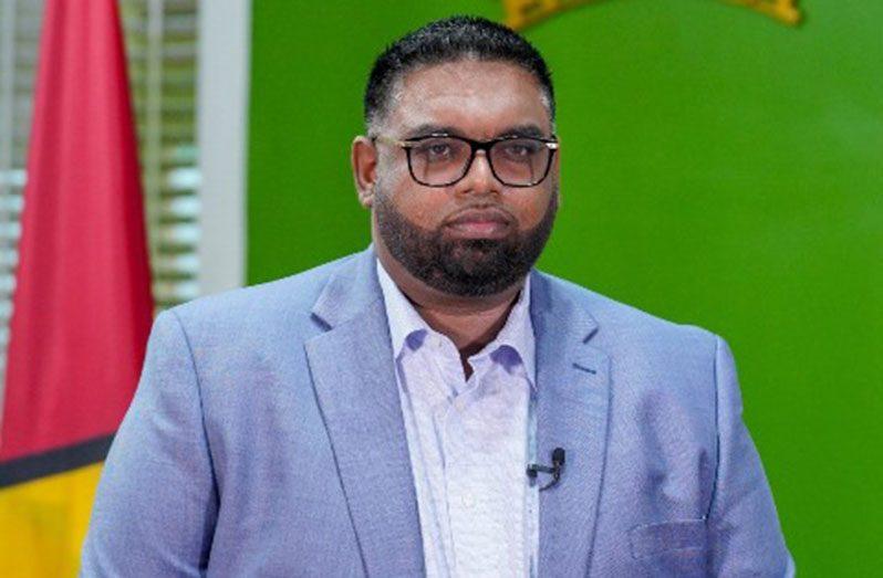 President, Dr. Irfaan Ali